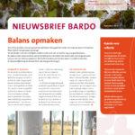 Nieuwsbrief Bardo December 2018 Cover