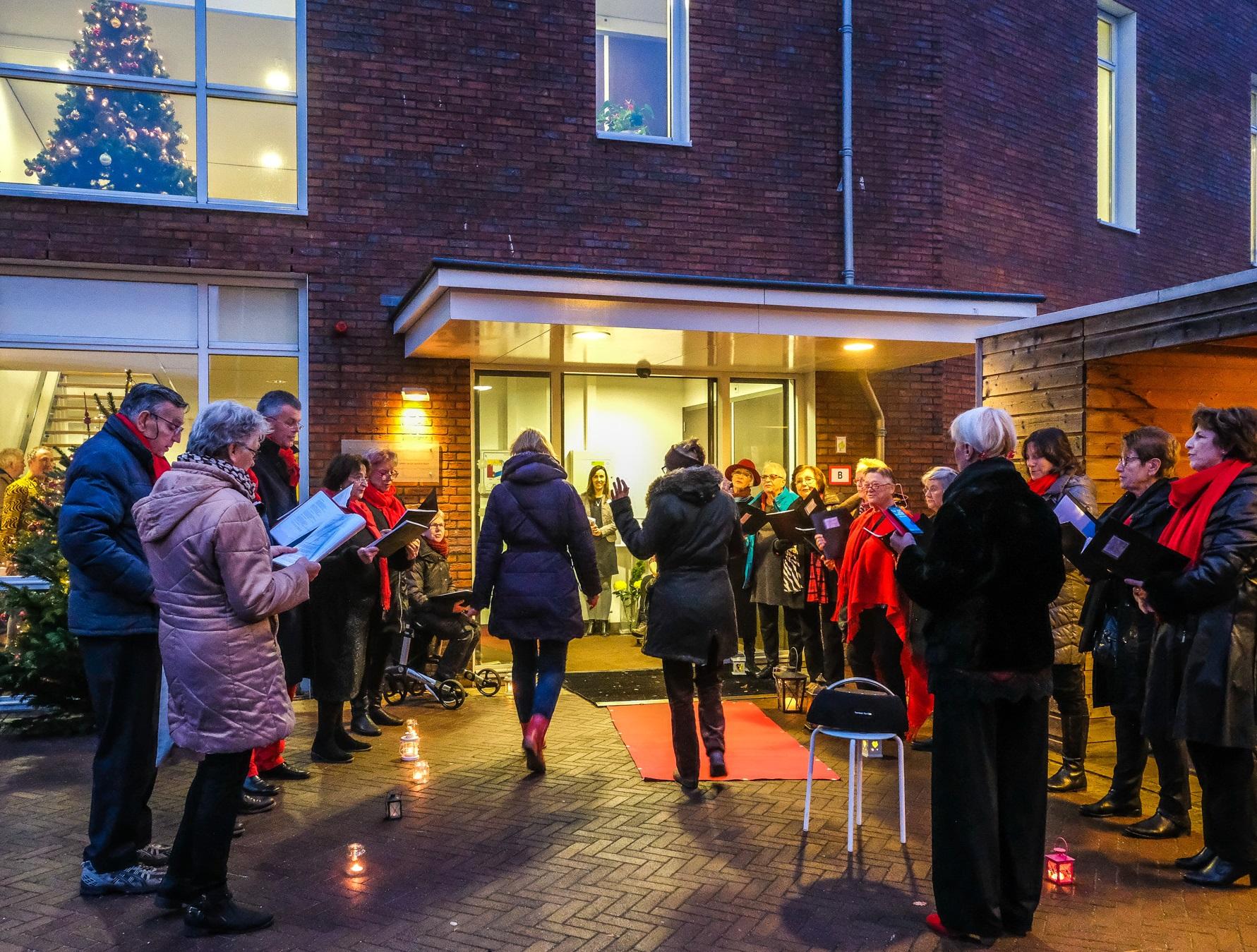 Warm welkom tijdens Cirkel van Licht in hospice Bardo